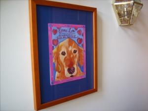 Emily's painting of EmmaLou